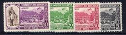 BOLIVIA, SET, NO.'S C91-C95, MH - Bolivia