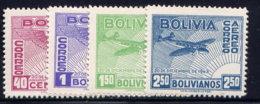 BOLIVIA, SET, NO.'S C96-C99, MH - Bolivia