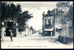 Cpa Du 22   Val André -- Rue De Dahouët Au Grand Hôtel        ...   Pleneuf   LZ22 - Pléneuf-Val-André
