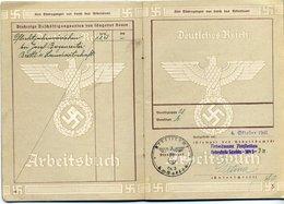 DR/Amstetten; Arbeitsbuch, 1942 - Documents
