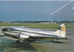 Lufthansa Airlines Curtiss Commando C-46D-10-CU Aereo Aviation N9891Z Airplane - 1946-....: Era Moderna