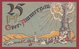 Allemagne 1 Notgeld 25 Pfenning Stadt Oberammergau Dans L 'état N °4648 - Collections