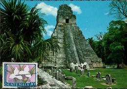 !  Ansichtskarte Guatemala, Tempel, Temple - Guatemala