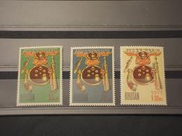 BHOUTAN - 1962 COLOMBO 3 VALORI - NUOVI(++) - Bhutan