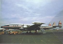 Capitol Airways Lockheed L-1049E Costellation N9720C Aviation Airplane Capitol International Airways - 1946-....: Era Moderna