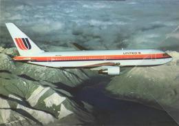 United Airlines B767-222  N603UA Avion B.737 Airplane - 1946-....: Era Moderna