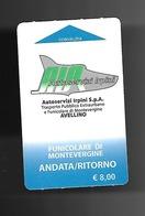 Biglietto Autobus Italia - AIR Funicolare Di Montevergine - Europa