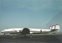 Capitol Airways Lockheed L-1049H Costellation N1927H Aviation Airplane Capitol International Airways - 1946-....: Era Moderna