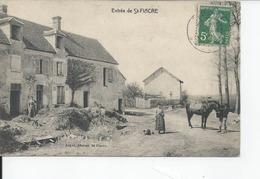 ST FIACRE  Entree 1912 - Francia