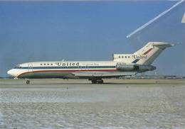 United Airlines B727-22  N707OU Avion B.737 Airplane - 1946-....: Era Moderna