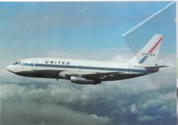 United Air Lines B727-222  N9002U Avion B.737 Airplane - 1946-....: Era Moderna