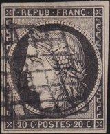 France   .    Yvert  .        3          .     O     .    Oblitéré   .   /   .     Cancelled - 1849-1850 Cérès