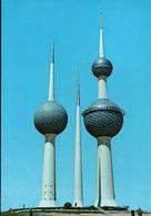 !  1985 Ansichtskarte Kuwait Towers, Chateau De Eaux, Water Towers - Kuwait