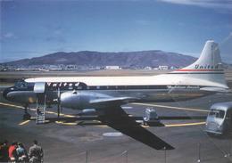 United Air Lines Convaie 340-41 N73124 Aereo Aviation Airplane - 1946-....: Era Moderna