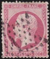 France   .    Yvert  .       24        .     O     .    Oblitéré   .   /   .     Cancelled - 1862 Napoléon III
