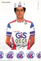 PETITO Giuseppe ITA (Civitavecchia (Lazio), 25-2-'60) 1986 GiS Gelati - OECE - Ciclismo
