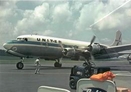 United Air Lines DOUGLAS DC-6B N37575 Avion DC6 Airplane At AVL - 1946-....: Era Moderna