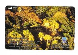 Carta Telefonica Indonesia - Hutan Ujung Kulon -  Carte Telefoniche@Scheda@Schede@Phonecards@Telecarte@Telefonkarte - Indonesia