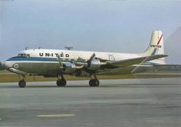 United Air Lines Douglas DC-6 N47533 Avion DC6 Airplane At CMH - 1946-....: Era Moderna