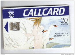 Carta Telefonica Irlanda - Aoife - Carte Telefoniche@Scheda@Schede @Phonecards@Telecarte@Tel Efonkarte - Irlanda