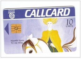 Carta Telefonica Irlanda - Niamh 10u   -  Carte Telefoniche@Scheda@Schede@Phonecards@Telecarte@Telefonkarte - Irlanda