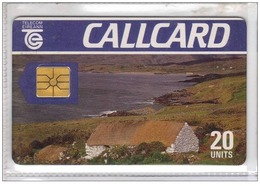 Carta Telefonica Irlanda - Paesaggio  -  Carte Telefoniche@Scheda@Schede@Phonecards@Telecarte@Telefonkarte - Irlanda