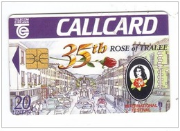 Carta Telefonica Irlanda - Rose Of Tralee  -  Carte Telefoniche@Scheda@Schede@Phonecards@Telecarte@Telefonkarte - Irlanda
