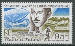 Wallis Und Futuna 1982 Luftfahrtpionier Alberto Santos Dumont 427 Postfrisch - Unused Stamps