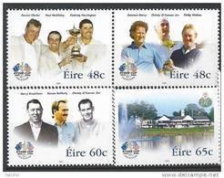 Irlande 2005 N°1669/1672 Neufs **  Sport Golf Ryder Cup - Neufs