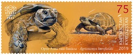 H01 Kyrgyzstan Red List Red Book Rote Liste Reptiles Frogs Snakes 2019 Mi# 133 MNH - Kirgisistan