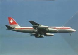Swissair Airlines Convair 990A-30A  HB-ICF Aereo Aviation Airplane - 1946-....: Era Moderna