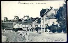 Cpa Du 22 Le Val André Les Villas De La Plage     ....   Pleneuf   LZ23 - Pléneuf-Val-André