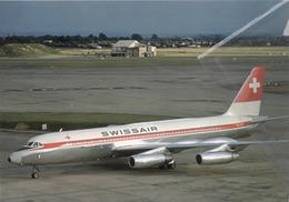 Swissair Airlines Convair 990A Coronado HB-ICB Aereo Aviation At LHR Airplane - 1946-....: Era Moderna