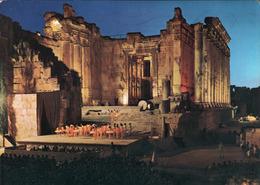 !  1971, Ansichtskarte Baalbeck, Festival Of Music And Dramatic Arts, Libanon - Libanon