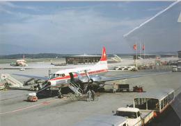 Swissair Airlines Convair 440-11 Metropolitan HB-IMN Aereo Aviation At GVA Airplane - 1946-....: Era Moderna