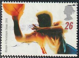 GB 1996 Yv. N°1887 - Jeux Olympiques Et Paralympiques D'été - 26p Basket-ball - Oblitéré - Gebraucht