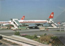 Swissair Airlines Convair 990A Coronado 30A  HB-ICF Aereo Aviation At ZRH Airplane - 1946-....: Era Moderna