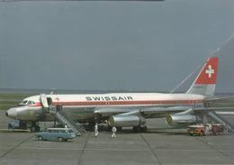 Swissair Airlines Convair 990-30A Coronado 30A  HB-ICF Aereo Aviation At HNB Airplane - 1946-....: Era Moderna
