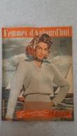 FEMMES D'AUJOURD'HUI N°319 DE 06/1951 - Ohne Zuordnung