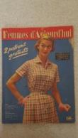 FEMMES D'AUJOURD'HUI N°535  DE 08/1955 - Ohne Zuordnung