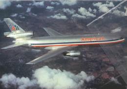 American Airlines Douglas DC-10  N102AA Avion DC10 Airplane AEREO - 1946-....: Era Moderna
