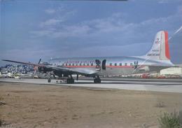 American Airlines Douglas DC-7B  N362AA Avion DC7 Airplane AEREO - 1946-....: Era Moderna