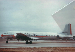 American Airlines Douglas DC-6  N90730 Avion DC6 Airplane AEREO - 1946-....: Era Moderna