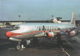 American Airlines Douglas DC-6  N90744 Avion DC6 Airplane At LGA AEREO - 1946-....: Era Moderna