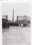 PHOTO ORIGINALE 39 / 45 WW2 WEHRMACHT FRANCE PARIS SOLDATS ALLEMANDS DEVANT L OBELISQUE - Guerre, Militaire