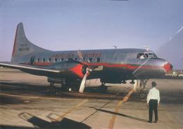 Swissair Airlines Convair 240-0 N94261 Aereo Aviation At HNB Airplane - 1946-....: Era Moderna