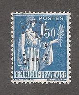 Perforé/perfin/lochung France No 288 G.I (77) - Perforés