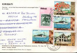 !  1980 Ansichtskarte, Modern Postcard, Kiribati, Dance - Kiribati (1979-...)