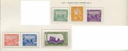 Tunisie - Tunesien - Tunisia 1921 Y&T N°70 à 75 - Michel N°72 à 77 * - Sites Divers - Tunisie (1888-1955)