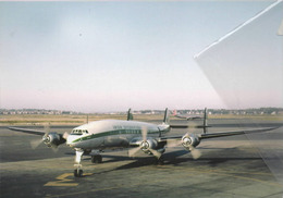 Irish International Airlines (Seaboard & Western Airlines) Lockheed L-1049h Costellation N009C Aviation Airplane - 1946-....: Era Moderna